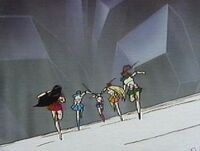 Sailor scouts to the rescue