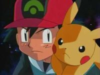 Ash and pikachu determined