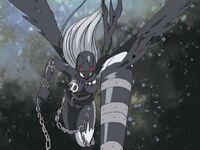Ladydevimon darkness spear
