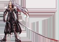 Sephiroth full view