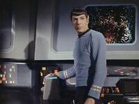 Spock at sensor station
