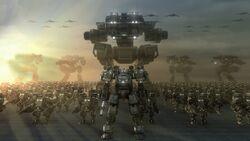 Fantasy Army of robots comes 096559