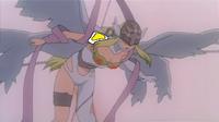 Angewomon looking on super