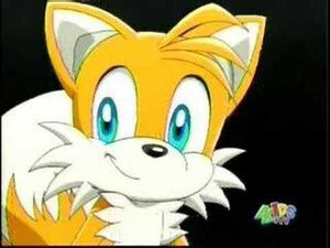 Tails cheerful