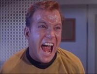 Captain kirk yells