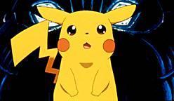 Pikachu looks