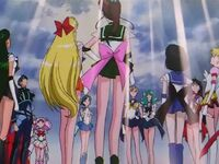 Sailor scouts all together