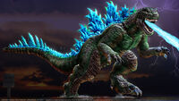 Godzilla full view attack