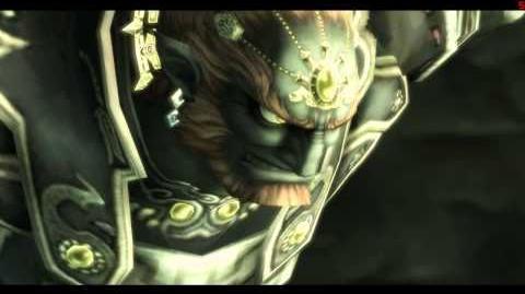 The Legend of Zelda Twilight Princess ~ Ganondorf's Failed Execution Cutscene - 720p