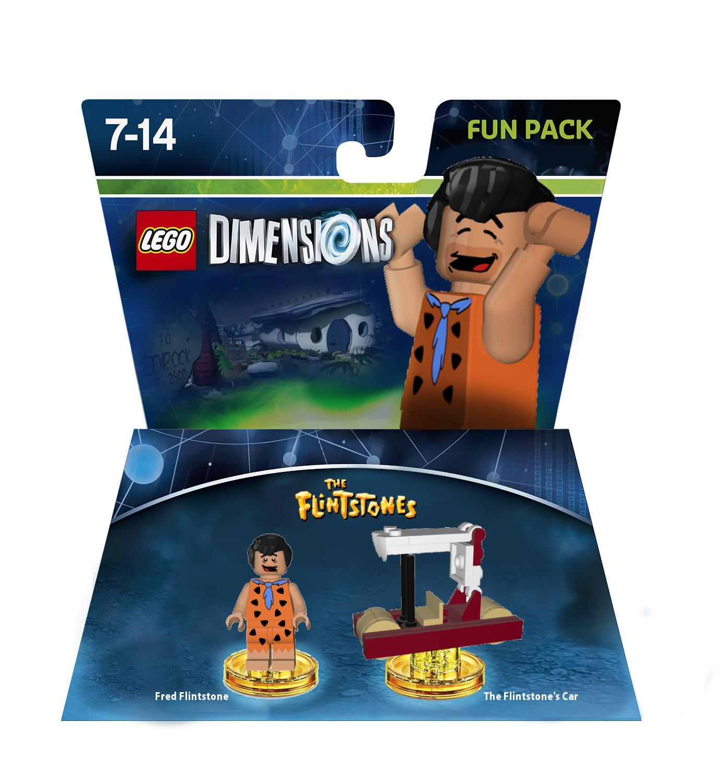 Fred Flintstone Fun Pack Npgcole Lego Dimensions
