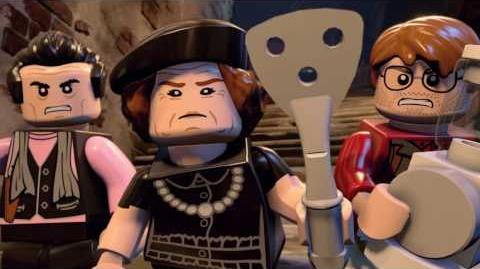 LEGO Dimensions Excalibur Batman Meets The Goonies!