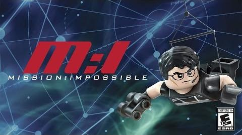 LEGO Dimensions- Ethan Hunt Spotlight