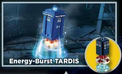 Energy-burst tardis