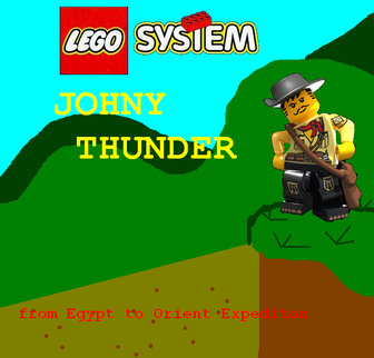 LEGO Johny Thunder the Video Game Logo 1