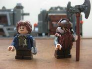Pippin and Gimli
