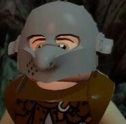 Frodo in orc armor