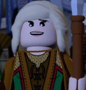 Éowyn with armor