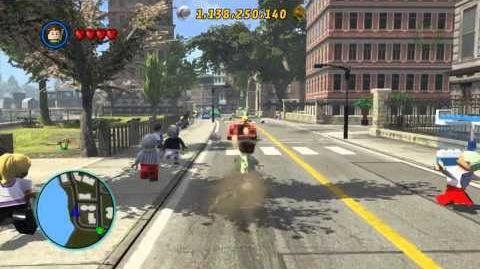 LEGO Marvel Super Heroes The Video Game - Sandman free roam