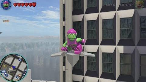 LEGO Marvel Superheroes - Green Goblin Free Roam Gameplay
