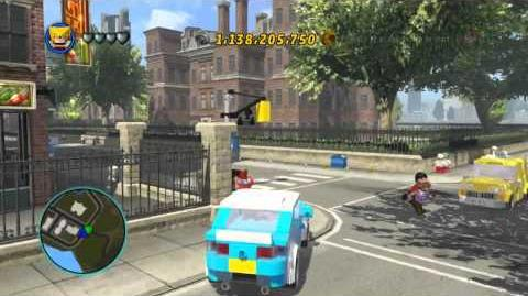LEGO Marvel Super Heroes The Video Game - Sabretooth free roam