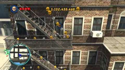 LEGO Marvel Super Heroes The Video Game - Hawkeye free roam
