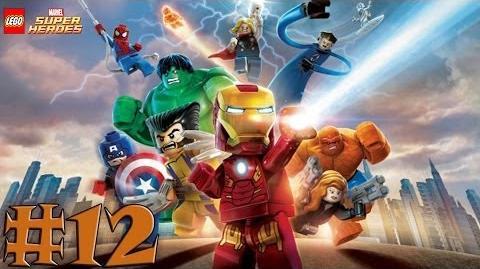 LEGO Marvel Super Heroes - Walkthrough - Part 12 - Rapturous Rise (X360) HD