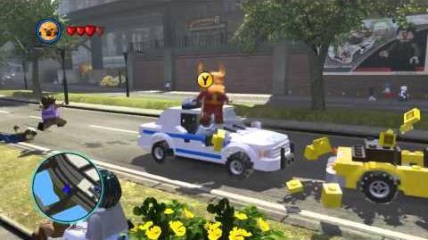 LEGO Marvel Super Heroes The Video Game - Heimdall free roam