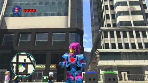 LEGO Marvel Super Heroes The Video Game - Mini Sentinel free roam