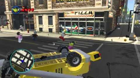 LEGO Marvel Super Heroes The Video Game - Super Skrull free roam