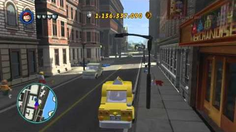 LEGO Marvel Super Heroes The Video Game - Mary Jane Watson free roam