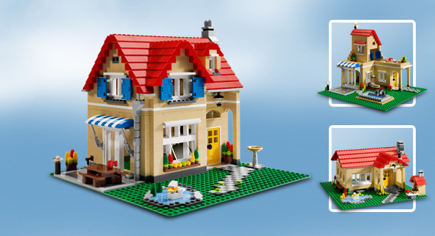 6754 la maison de famille wiki lego fandom powered by wikia. Black Bedroom Furniture Sets. Home Design Ideas