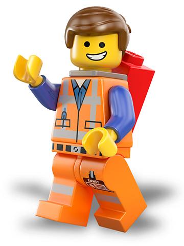 Image result for emmet from lego