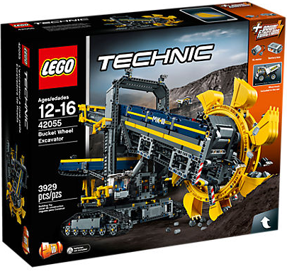 File:LEGO Technic Bucket Wheel Excavator.png
