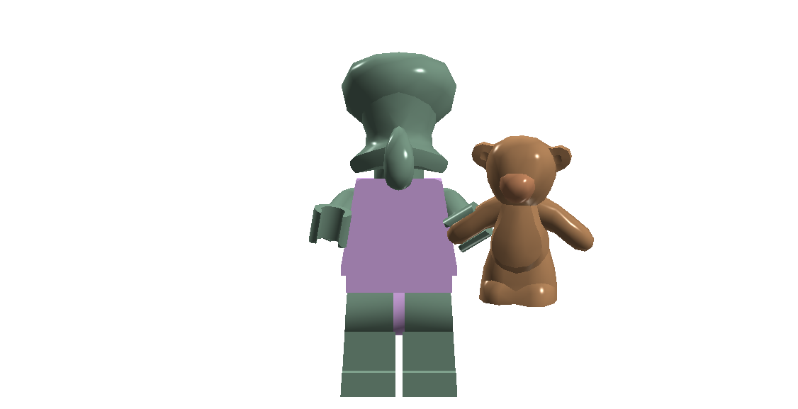 Squidward With Teddy