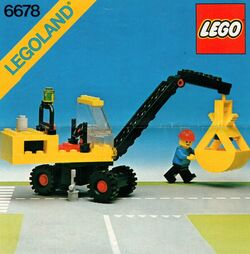 6678 Pneumatic Crane