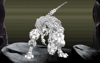 Lego trex bones