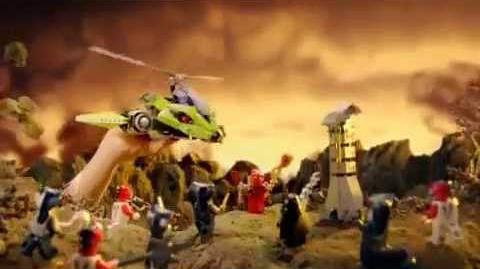 2012 LEGO Ninjago Rattlecopter Destinys Bounty