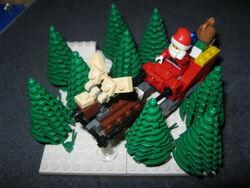 Santa's sleigh (custom)