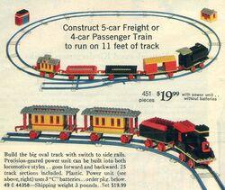118-Motorized Freight or Passenger Train