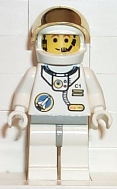 lego astronaut spaceship - photo #12