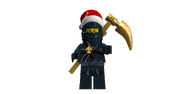 Cole Ninja of Earth Is Good Boy This Year Santa! He Wants A New Scyth AND YOU BETTER GET IT FOR HIM!!!!