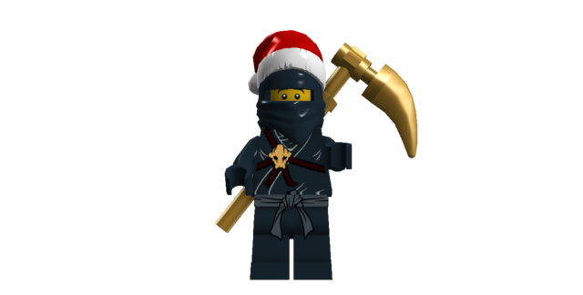 File:Cole Ninja of Earth Is Good Boy This Year Santa! He Wants A New Scyth AND YOU BETTER GET IT FOR HIM!!!!.png