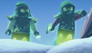 Basha and SoulArcher-Ninjago