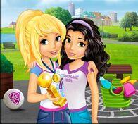 Heartlake High Emma and Stephanie