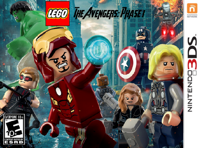 File:LEGO The Avengers-Phase 1 Cover (Nintendo 3DS).png