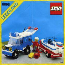 6698 RV with Speedboat
