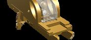 Gold Bolt's Gold Carbonite Transport, side thing off