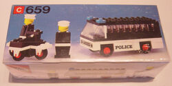 659-Police Patrol with Policemen