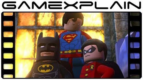 Lego B2 DC Super Heroes Trailer
