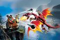 7017- Viking Catapult versus the Nidhogg Dragon